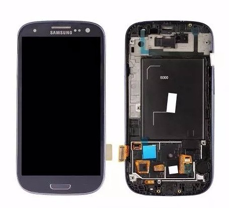 Tela Display Touch Frontal Galaxy S3 Neo/9300i Azul