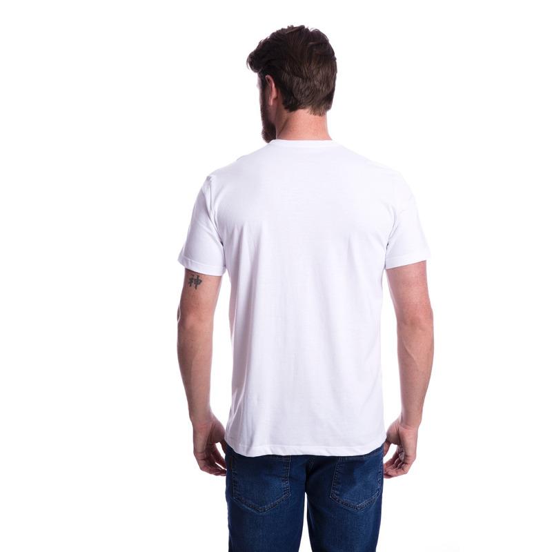 Camiseta Long Island Plus Size Branca