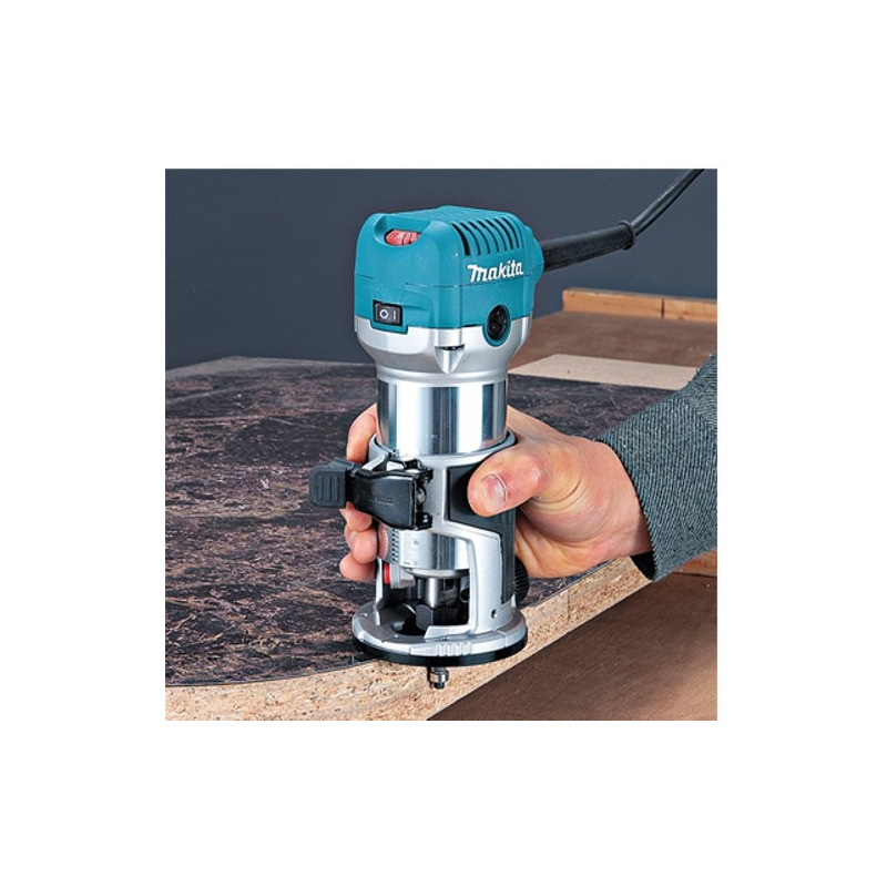 Tupia Laminadora 6mm 710 Watts - RT0700C - Makita - 110 Volts