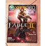 Revista Xbox 360 21 Fable 2 Pure Halo Wars Detonado I323