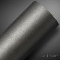 Adesivo para envelopamento automotivo jateado graphite metallic larg. 1,38 m