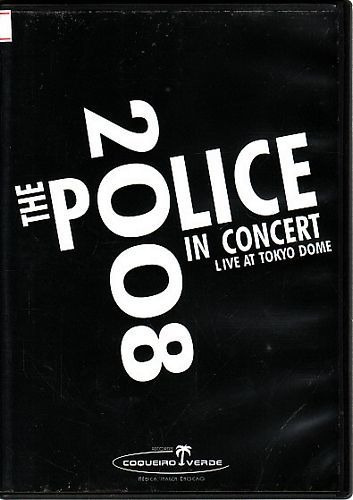 Dvd The Police In Concert Live At Original