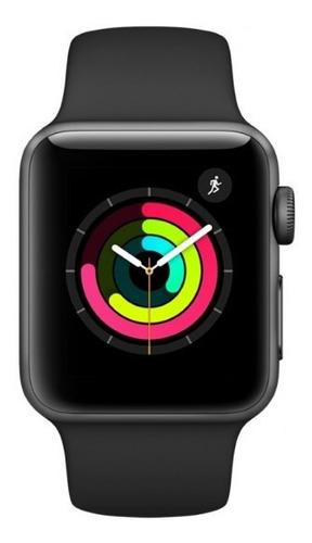 Apple Watch Series 3 Gps 38mm Cinza Espacial Original
