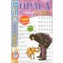 Livro Passatempo Cripto Nível Médio 4 Em 1 Opala Plus 200