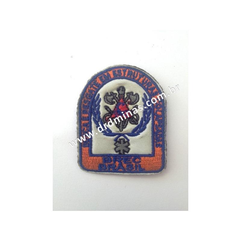 Distintivo Bordado BREC - BRASIL - 01