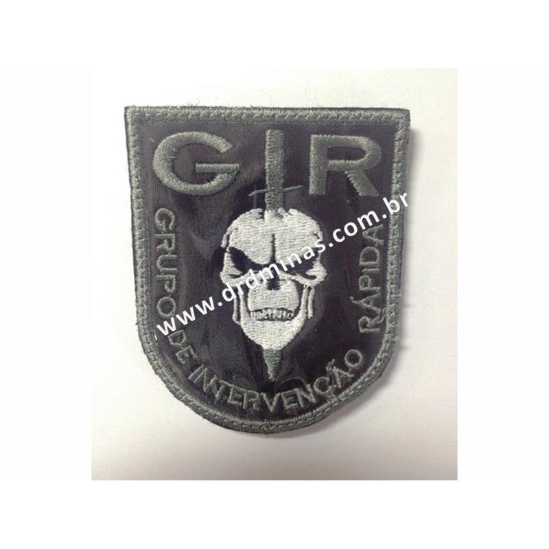 Patch / Distintivo Bordado GIR - III