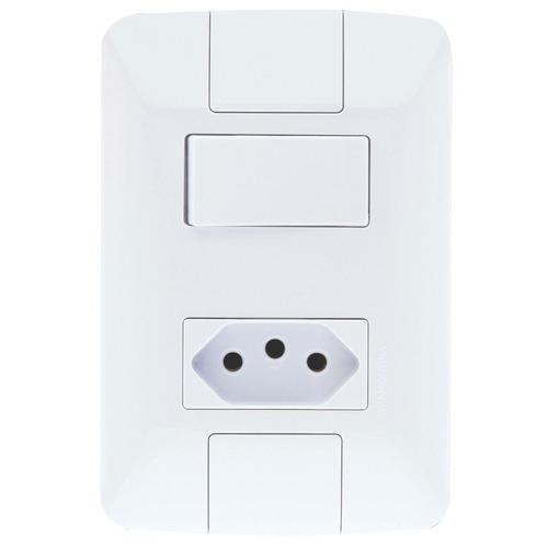 Kit C/ 5 Interruptor Simples + Tom 2p + T 10a Aria Original