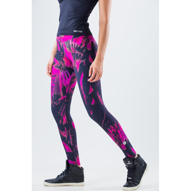 Legging Light Plus Exclusivo Penas Pink