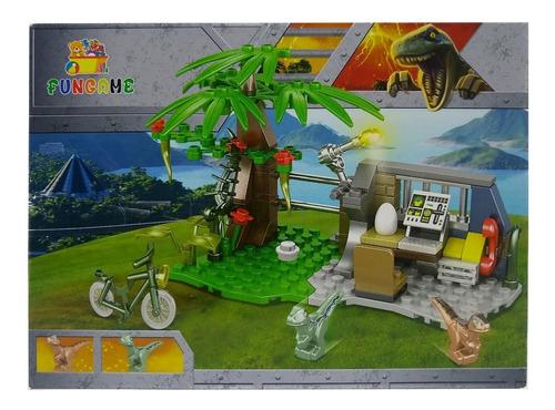 Brinquedo Dinossauro World 107 Peças Painel De Controle Original