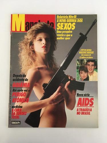 Revista Manchete Ayrton Senna - 24 Outubro 1987 Nº 1853 Original
