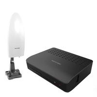 Kit Conversor e Gravador de TV Digital HDMI e Antena Amplificada  Para Tv 4 em 1 Multilaser