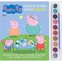 Livro Peppa Pig Prancheta Para Pin Editora Online