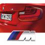 Acessórios Bmw 120i 318i 320i 328i Emblema M Prata Original
