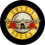 Capa Estepe Aro 16 Personalizada Pneu Ecosport Crossfox Aircross Jimny Cabo Aço Cadeado Guns And Roses