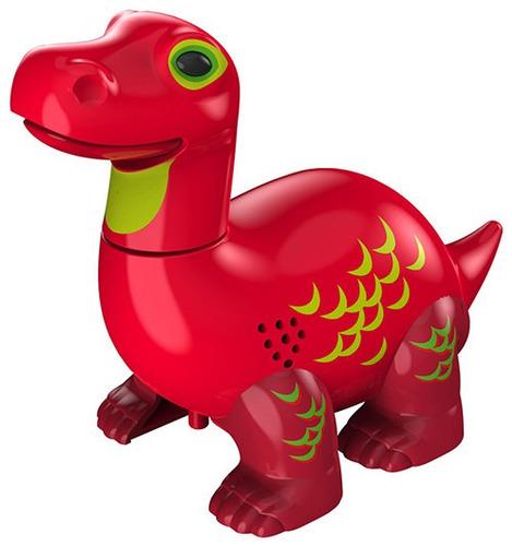 Digidinos Rugem Cantam Brotossauro Vermelho Apollo Dtc 3681 Original