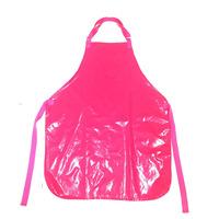 Avental de Plástico Rosa