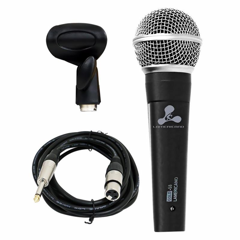 Microfone Lamericano Gold-58