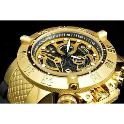 5b4b6e8a51d Relógio Invicta Subaqua 18526 Skeletonna Caixa Completo