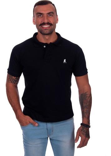 Camisa Gola Polo Masculina Camiseta  Piquet Algodão Original