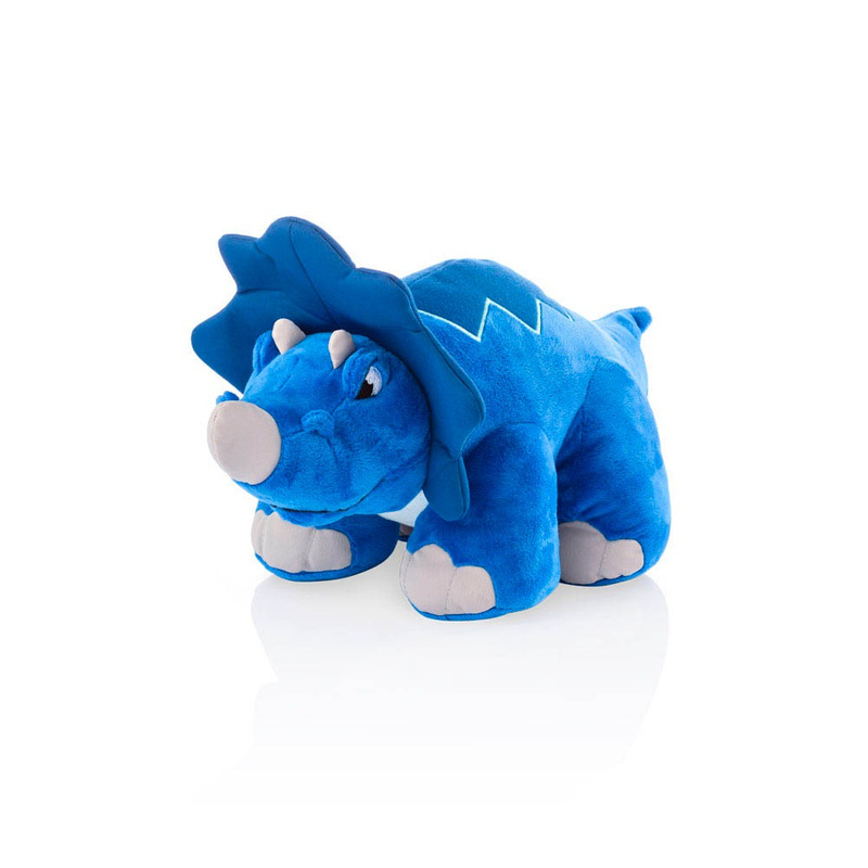 Dinossauro de Pelúcia Thunder Stompers Multikids Azul BR358