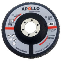 DISCO FLAP 115X22 GR40 FLAPANG BASIC APOLLO 50 UNIDADES