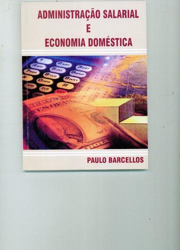 Livro Administração Salarial E Economia Doméstica Original
