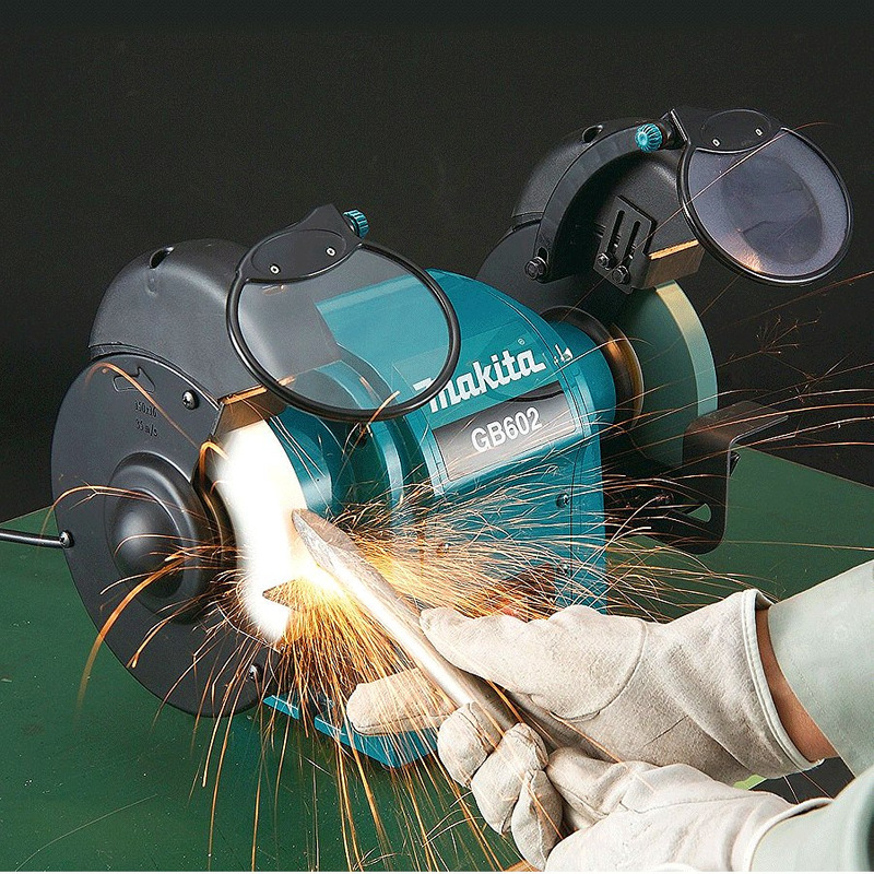 "Moto Esmeril 150 mm (6"") - GB602W - Makita - 110 Volts"