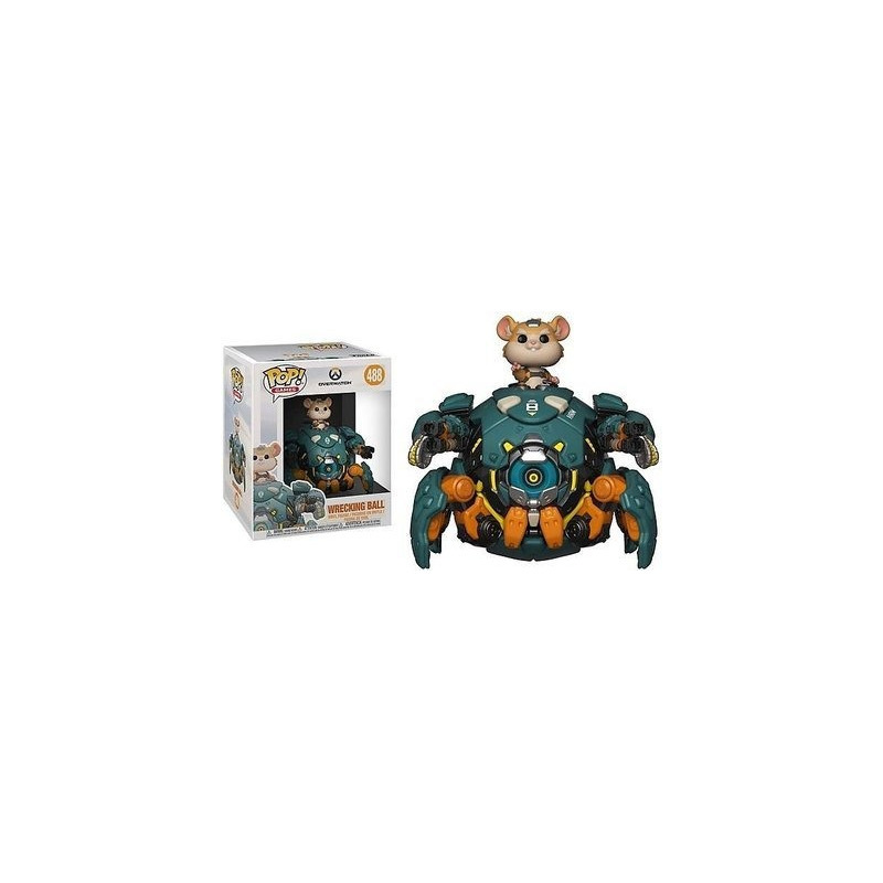 Funko Pop Wrecking Ball #488 Oversized - Overwatch - Games