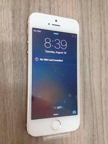 iPhone 6 Gold 64gb Usado (sem Biometria) Aceito Cartao Original