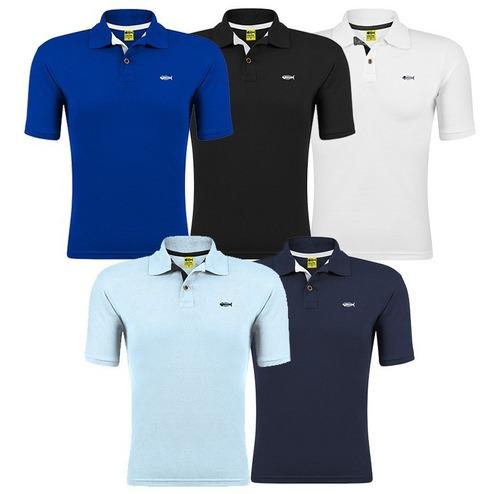 Kit De 5 Camisa Gola Polo Camiseta Atacado Revenda Promoção. Original