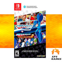 Jogo Megaman Legacy Collection 1 + 2 - Switch