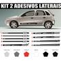Kit Acessórios Corsa Hatch Sedan Faixas Laterais