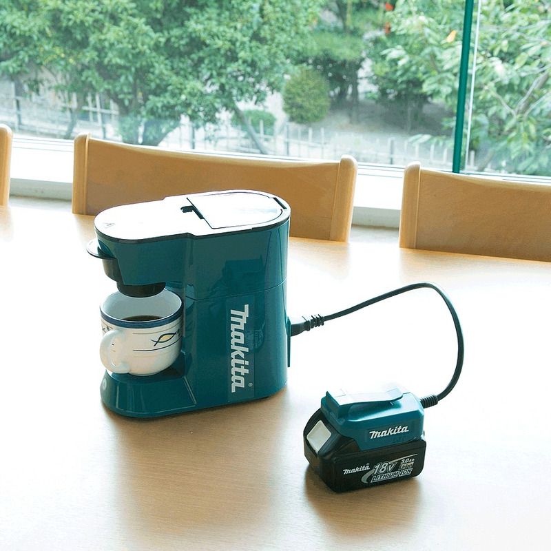 Cafeteira Elétrica ou à Bateria 18V - DCM500Z - Makita