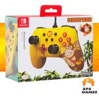 Controle Com Fio Para Nintendo Switch Edição Especial Donkey Kong - Power A