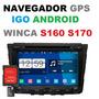 Cartão Sd Atualização Gps 2018 Central Winca S160 Winca S170