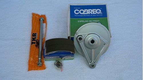 Espelho Cubo T./patim/eixo R. Traz. Moto Titan00/08/fan125