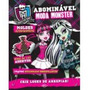 Livro Monster High Abominavel Moda Monster