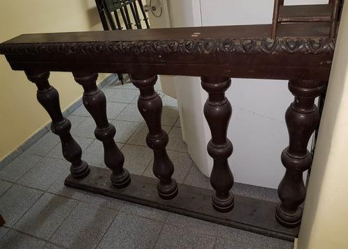 Aparador Balaustre Divisória Antiga Rústica Madeira Maciça Original