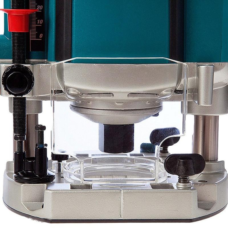 """Kit Tupia de Coluna 12mm 1650W RP2301FC Makita 110V + Kit de 6 Fresas para Madeira 1/4"""""""