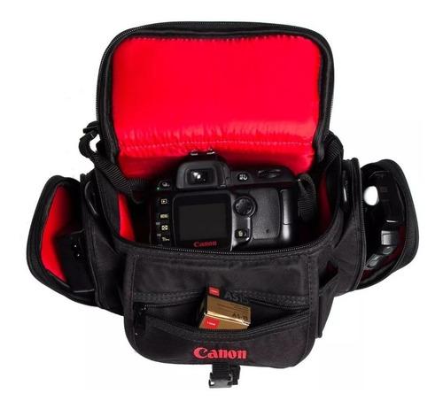Bolsa Case Canon T3 T4 T5 T3i T4i T5i T6i  T7i Dslr T6s Original