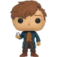 Newt Scamander w/ Egg Pop Funko #02 - Animais Fantásticos - Movies