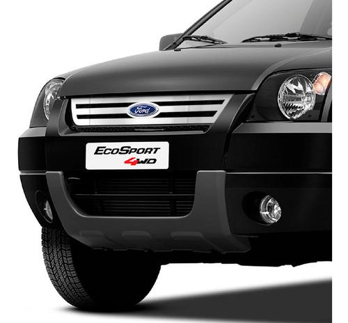 Grade Em Aço Inox Ford Ecosport 2003 2004 2005 2006 2007 Original