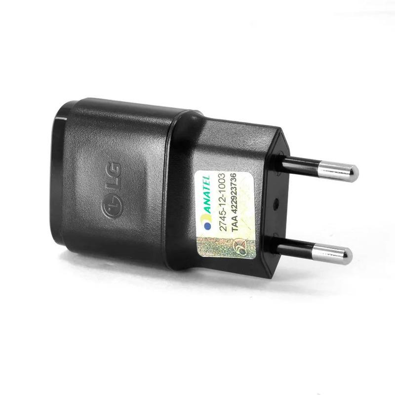 Fonte Carregador LG para Tablet e Celular 5V 0,85A Preto