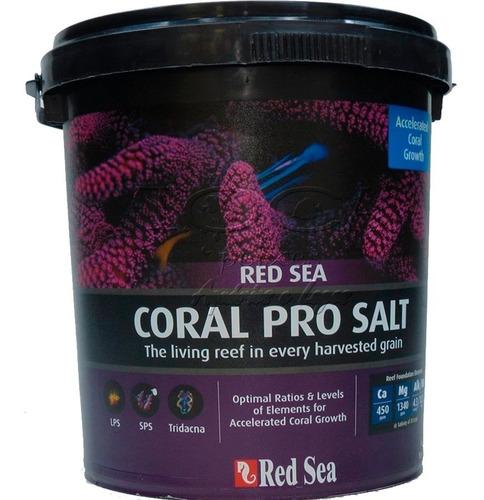 Sal Marinho Red Sea Coral Pro Salt 22kg - Faz 660 Litros Original