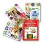 Kit 3 Revistas Flores Em Tecido Livro Flores E Frutas
