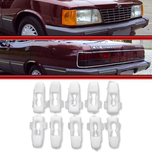 Kit Grampo Presilha Friso Farol Lanterna Opala Caravan 81 89