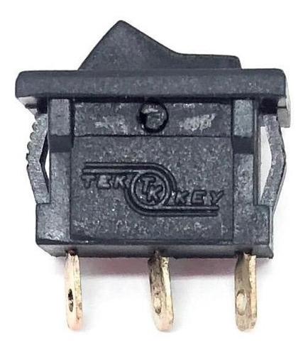 10peças Chave Interruptor Tecla Preta Liga-liga Tk Tek Key Original