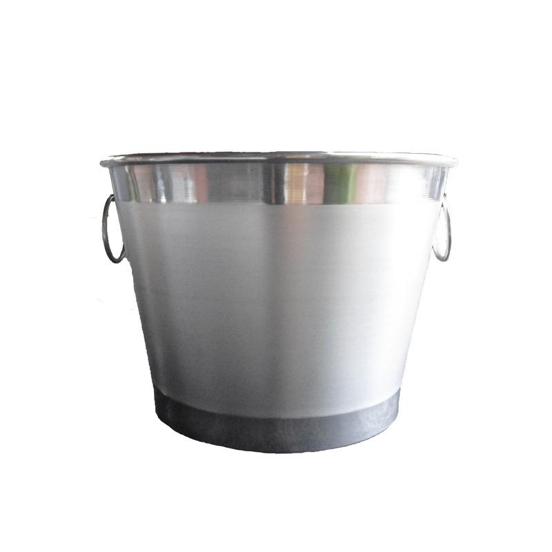 Balde de Gelo Alumínio para 5 Garrafas - Souvenir Góes