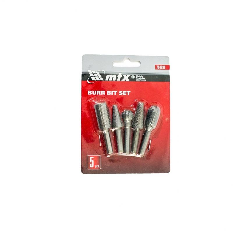 Kit de Brocas Escalonadas para Acabamento 5 Peças - 704999 - MTX