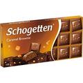 Barra De Chocolate Ao Leite Brownie Caramel - Schogetten